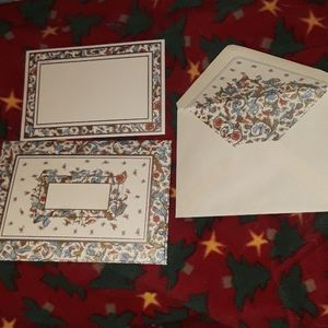 10 Note cards with envelopes. Made in italy